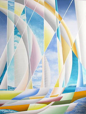 Painting - Caribbean Afternoon by Douglas Pike