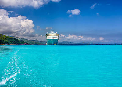 Photograph - Caribbean Beauty by John M Bailey