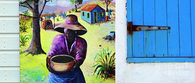 Caribbean Blues 2 Art Print