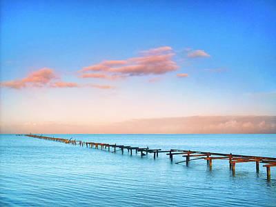 Photograph - Caribbean Calm by Dominic Piperata