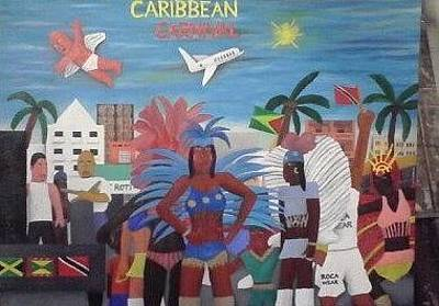 Painting - Caribbean Carnival by Brandon Crawford