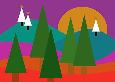 Digital Art - Caribbean Christmas by Val Arie