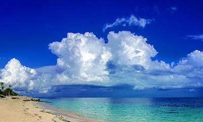 Caribbean Clouds Art Print