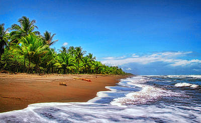 Photograph - Caribbean Coast Of Costa Rica by Carolyn Derstine