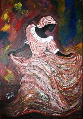 Caribbean Dancer Art Print