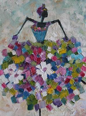 Painting - Caribbean Dancer by Mirjana Gotovac