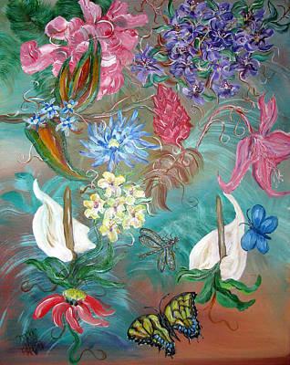 Caribbean Delight Art Print by Mikki Alhart