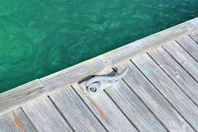Sint Maarten Wall Art - Photograph - Caribbean Dock by Luke Moore
