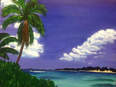 Painting - Caribbean Dream by Karen Buford