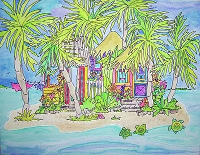 Painting - Caribbean Dreaming by Coni Brown