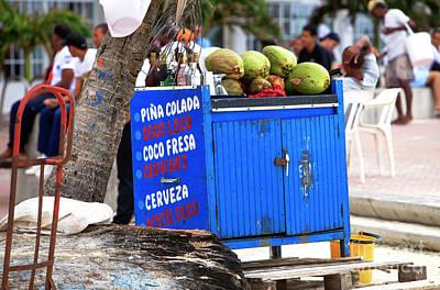 Photograph - Caribbean Drinks by John Rizzuto