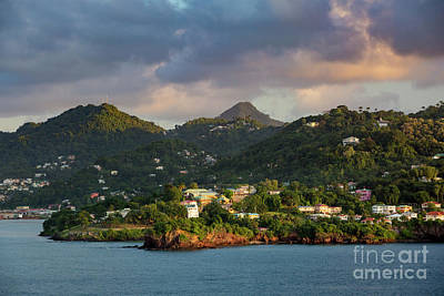 Photograph - Caribbean Evening by Brian Jannsen