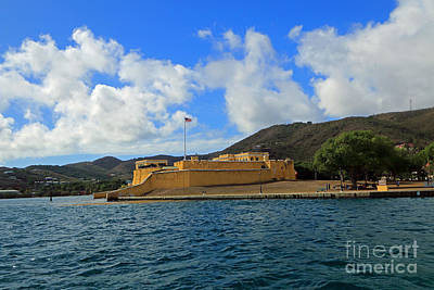 Photograph - Caribbean Fort by Mary Haber