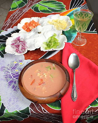 Photograph - Caribbean Gazpacho by The Art of Alice Terrill