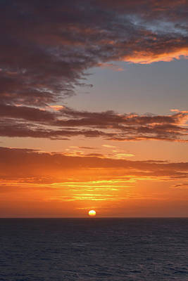 Photograph - Caribbean Goodnight by John M Bailey