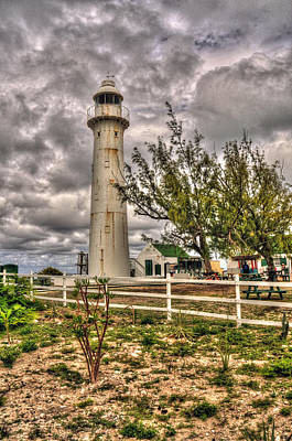 Photograph - Caribbean Light House by Don Wolf