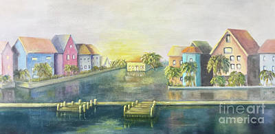Painting - Caribbean Morning  by Marlene Book