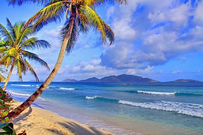 Bvi Photograph - Caribbean Paradise by Scott Mahon