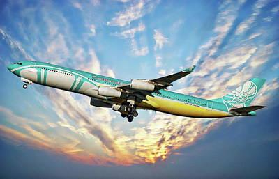 Photograph - Caribbean Passenger Plane by Anthony Dezenzio