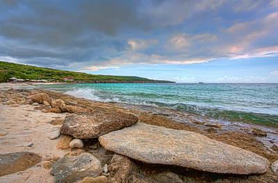 Photograph - Caribbean Rocks by Nadia Sanowar