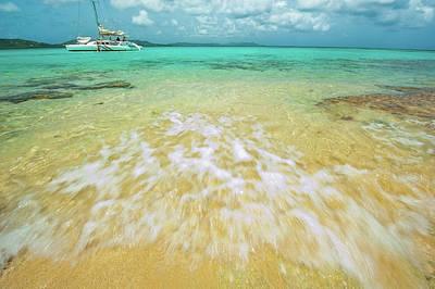 Photograph - Caribbean Rush by Greg Wyatt