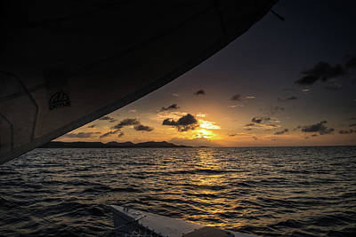 Photograph - Caribbean Sail St Croix by Greg Wyatt