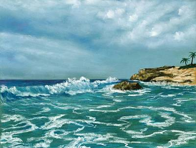Pastel - Caribbean Sea by Anastasiya Malakhova