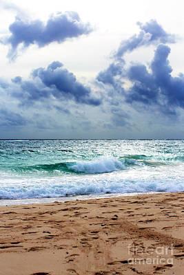 Photograph - Caribbean Sea by John Rizzuto