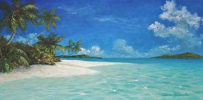 Painting - Caribbean Seclusion by Alan Zawacki