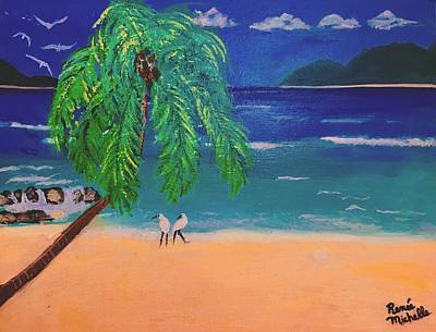 Painting - Caribbean Shores by Renee Michelle Wenker