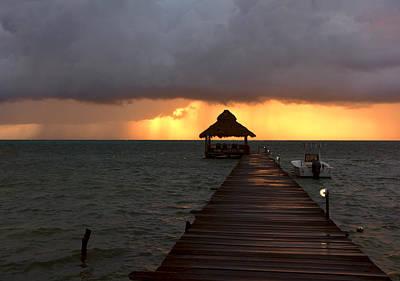 Photograph - Caribbean Storm by Donna Shahan