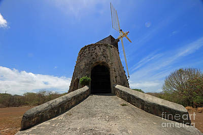 Photograph - Caribbean Sugar Mill II by Mary Haber