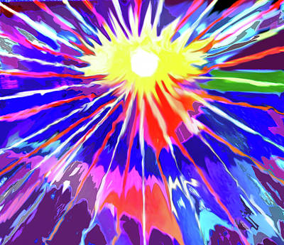 Digital Art - Caribbean Sun by Ian  MacDonald