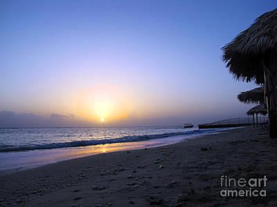 Photograph - Caribbean Sunrise by Cedric Hampton
