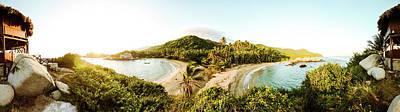 360 Wall Art - Photograph - Caribbean Sunrise by Michael Weber