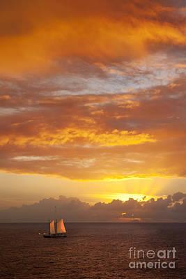 Travel - Caribbean Sunset by Brian Jannsen