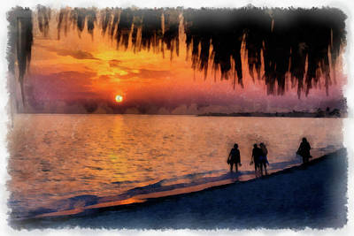 Photograph - Caribbean Sunset II by Dawn Currie