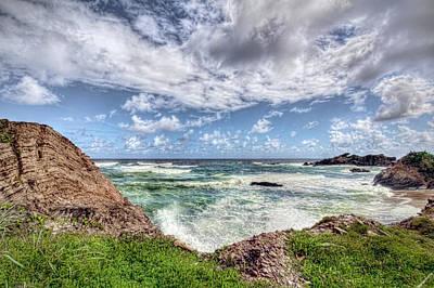Photograph - Caribbean Waves by Nadia Sanowar