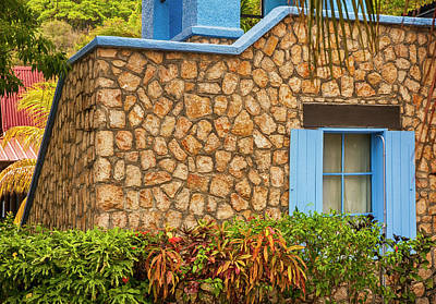 Photograph - Caribbean Window by Mick Burkey