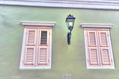 Photograph - Caribbean Windows by Nadia Sanowar