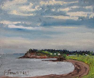 Caribou Beach Pictou Ns Canada Art Print by Francois Fournier