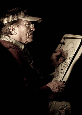 Photograph - Caricature Chiaroscuro by Caitlyn Grasso