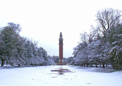 Photograph - Carillon In Winter by Jean Haynes