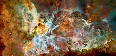 Photograph - Carina Nebula Closer by Weston Westmoreland