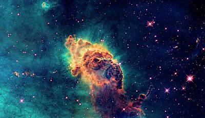 Photograph - Carina Nebula Detail by Weston Westmoreland