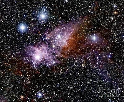 Heavenly Body Photograph - Carina Nebula, Ngc 3372, With Eta by Science Source