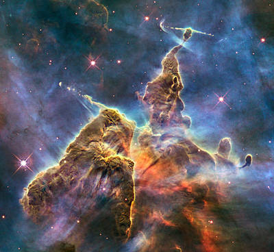 Photograph - Carina Nebula by Steve Kearns