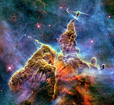 Photograph - Carina Nebula by Weston Westmoreland