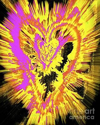 Caring Heart Art #2 Art Print