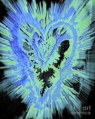 Caring Heart Art #3 Art Print